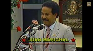 Juan Marichal 1983 Hall of Fame Induction Speech