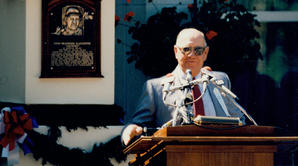 Enos Slaughter induction speech