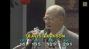 Travis Jackson Induction Speech