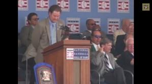 Wade Boggs Hall of Fame Induction speech - 2005, 12:49