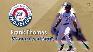 Frank Thomas - Memories of 2005