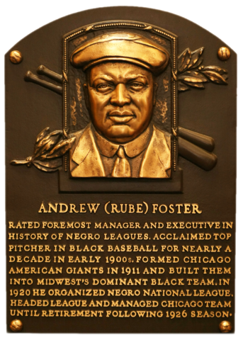 Foster Rube Baseball Hall Of Fame