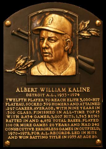 Kaline, Al | Baseball Hall of Fame