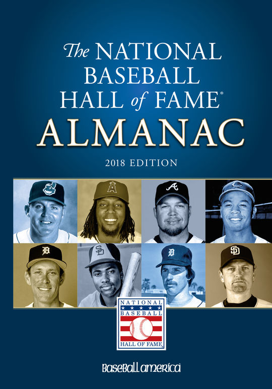 Hall of Fame Almanac - $24.95 value