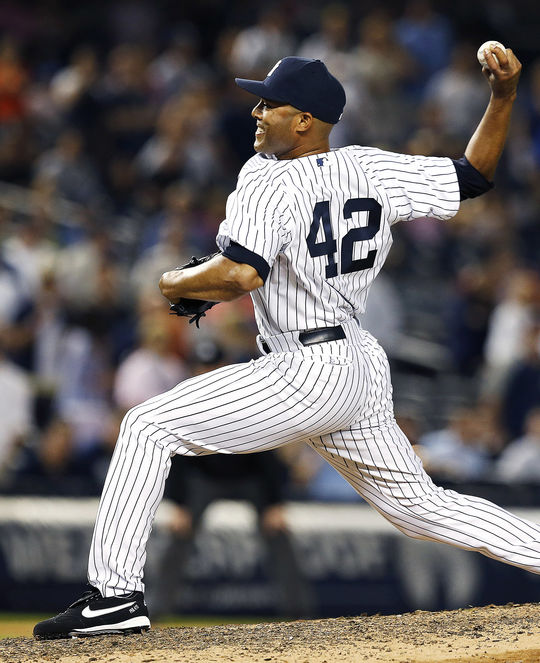 In 19 seasons with the Yankees, Mariano Rivera saved a big league-record 652 games. (National Baseball Hall of Fame and Museum)
