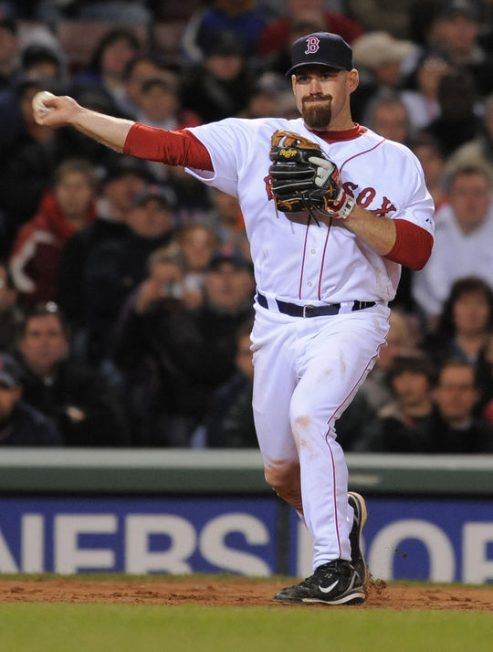 Kevin Youkilis was a three-time All-Star during his 10-year big league career with the Red Sox, White Sox and Yankees. (National Baseball Hall of Fame and Museum)
