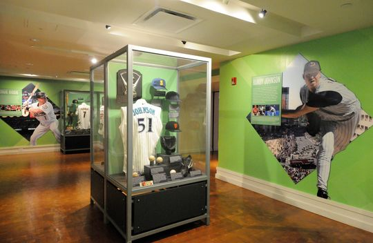 The new Inductee exhibit features a wide range of donated artifacts from the Hall of Fame Class of 2015. (Milo Stewart, Jr./National Baseball Hall of Fame)
