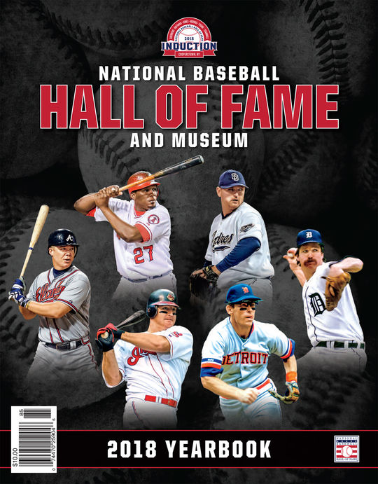 Hall of Fame Yearbook - $10.00 value