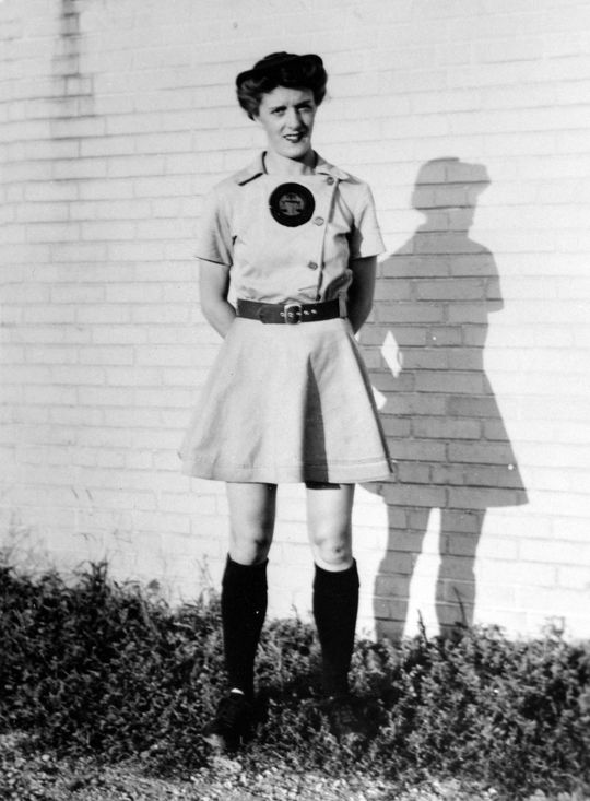 Gladys Davis was the AAGPBL's leading hitter heading into the July 1, 1943, All-Star Game at Chicago's Wrigley Field.