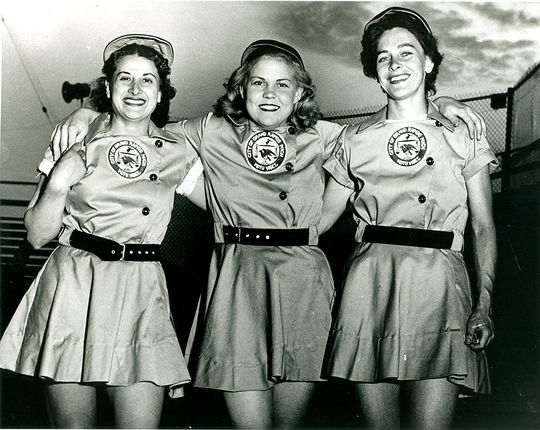 The Grand Rapids Chicks were one of the teams who played in the All-American Girls Professional Baseball League, making a lasting contribution to both women's rights and women in baseball, for years to come. (National Baseball Hall of Fame)