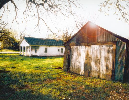 Hank Aaron's childhood home in Mobile, Ala. (National Baseball Hall of Fame Library)