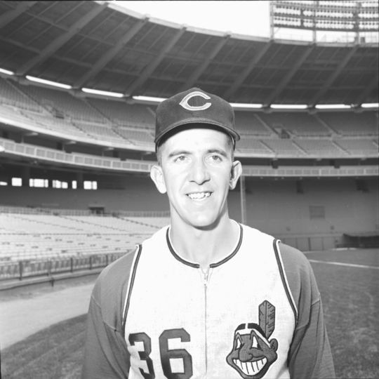 In 1963, the Cleveland Indians acquired sidewinding Ted Abernathy (pictured above) and made him their closer, freeing up Gary Bell to pitch in a long relief role. (National Baseball Hall of Fame and Museum)