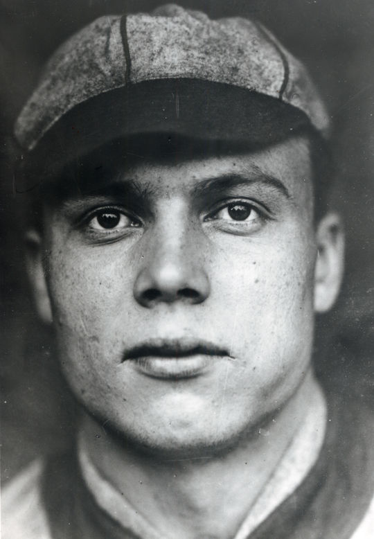 Eddie Ainsmith was a former Major League catcher who managed the Philadelphia Bobbies, and encouraged their Japanese tour. (National Baseball Hall of Fame and Museum)