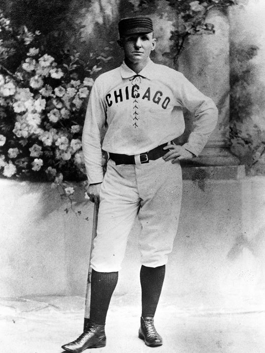 Captain of the Chicago White Stockings, Cap Anson was arguably the greatest baseball player of the 19th Century. (National Baseball Hall of Fame)