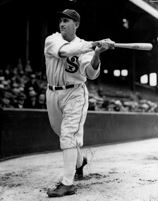 Luke Appling played his entire 20-year career with the Chicago White Sox. (National Baseball Hall of Fame and Museum)
