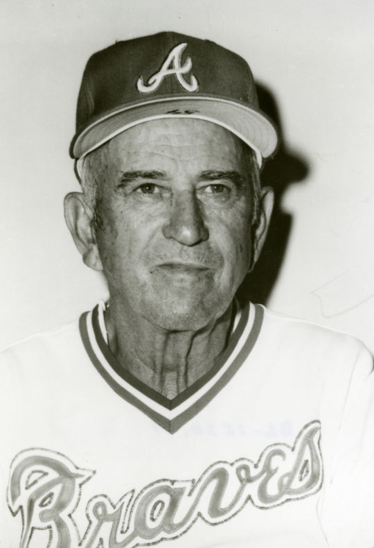 Hall of Famer Luke Appling, pictured here, coached Bert Campaneris during his time with the A's. (National Baseball Hall of Fame and Museum)