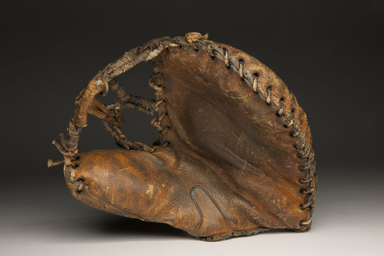 The conservation of Vivian Kellogg's glove, used while she was playing for the AAGPBL's Fort Wayne Daisies, will ensure that the next generation of fans can learn the story of her and of the league. (Milo Stewart Jr. / National Baseball Hall of Fame and Museum)