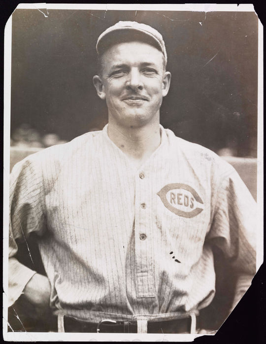 """Why, it's alright. It's a step upward, you know."" --Christy Mathewson, on being traded to the Reds.  BA-PF-Christy-Mathewson-H&S-023  (National Baseball Hall of Fame and Museum)"