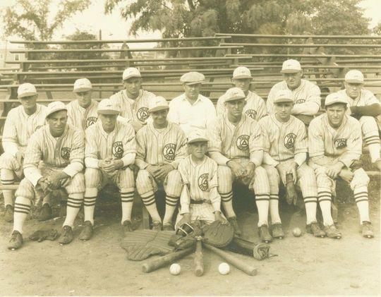 In the era before television, many employers fielded baseball teams that served as recreation for millions of American workers. (National Baseball Hall of Fame and Museum)
