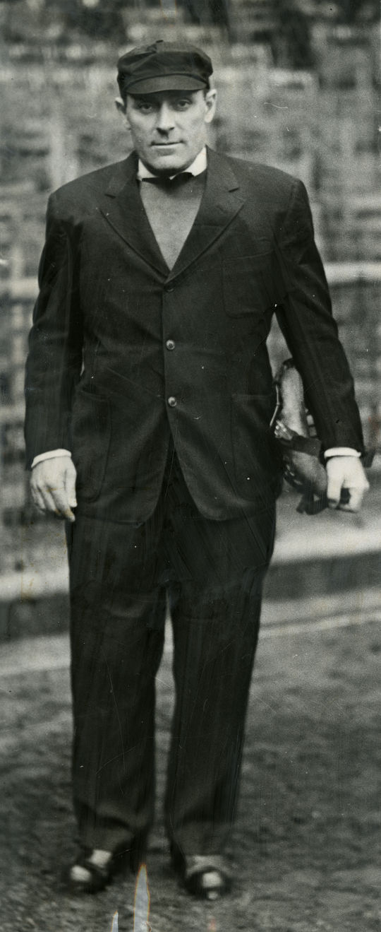 Bill Stewart was a National League umpire from 1933 through 1954. (National Baseball Hall of Fame)