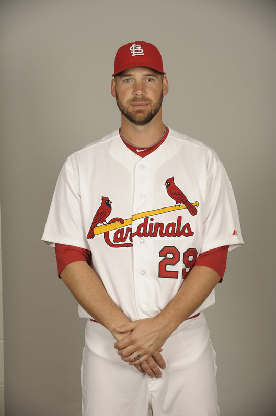 Chris Carpenter pitched 15 seasons for the Blue Jays and the Cardinals. (National Baseball Hall of Fame and Museum)