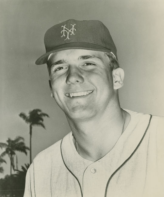 """Turk Wendell's colorful personality evoked memories of Tug McGraw, a former relief pitcher for the New York Mets. <a href=""""http://collection.baseballhall.org/islandora/object/islandora%3A506470"""">PASTIME</a> (National Baseball Hall of Fame and Museum)"""