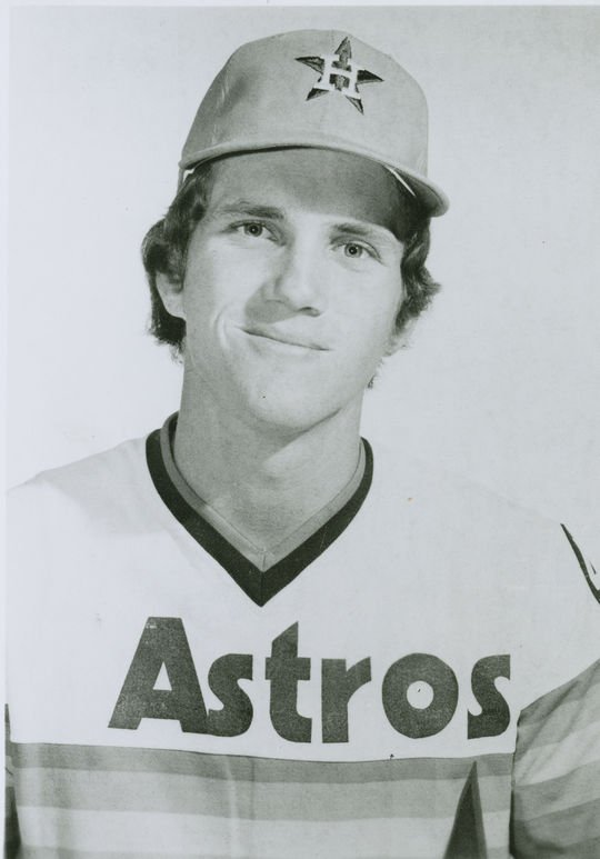 "After Rob Andrews, pictured above, debuted at second base for the Astros in 1975, Tommy Helms became his back up at the position. <a href=""http://collection.baseballhall.org/islandora/object/islandora%3A604575"">PASTIME</a> (National Baseball Hall of Fame and Museum)"
