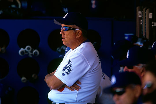 Davey Johnson served as an MLB manager for 17 years, including two at the helm of the Los Angeles Dodgers. (Brad Mangin / National Baseball Hall of Fame)