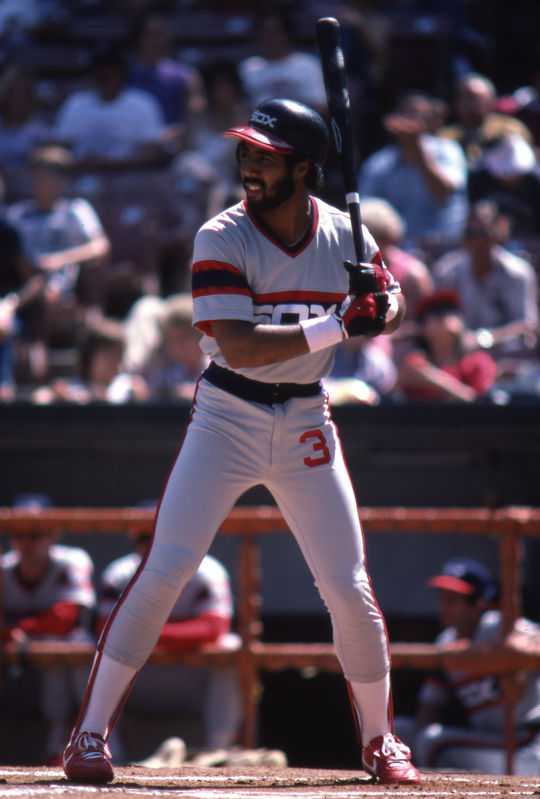 Harold Baines led the Chicago White Sox to their first postseason appearance since 1959, when they clinched the AL West title in 1983. (National Baseball Hall of Fame)