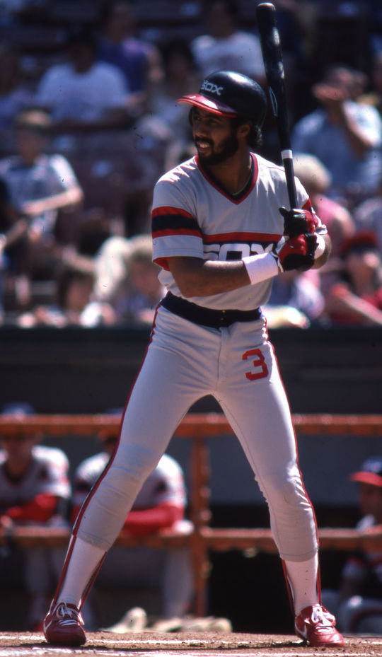 Harold Baines reached the 20-home run mark 11 times in 22 seasons. (Lou Sauritch/National Baseball Hall of Fame and Museum)