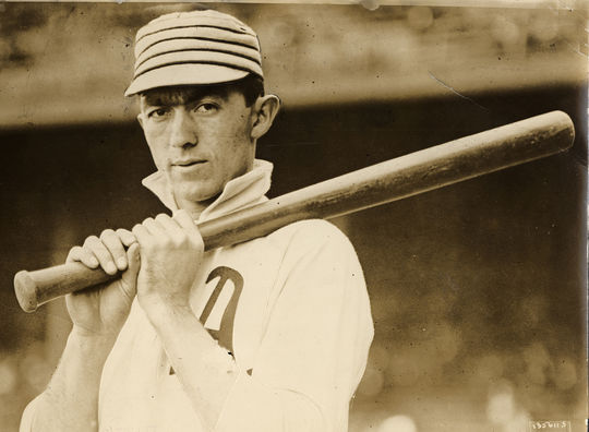Home Run Baker, a future Hall of Famer, played third base for the Philadelphia Athletics from 1908-1914. (National Baseball Hall of Fame and Museum)