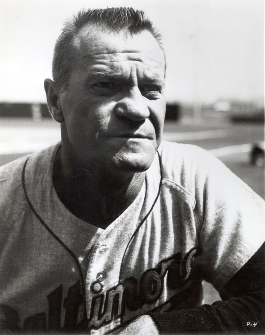 Hank Bauer served as the manager of the Athletics and the Orioles, along with minor league teams in the Mets' system. (National Baseball Hall of Fame and Museum)