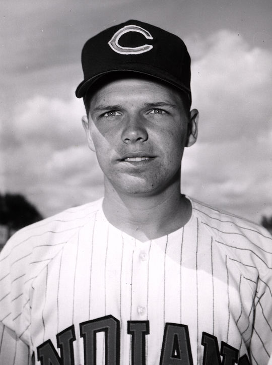 Gary Bell played for the Cleveland Indians from 1958-1967. (National Baseball Hall of Fame and Museum)