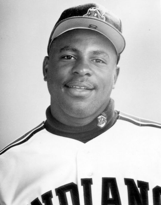 Today's Game Era candidate Albert Belle played in the big leagues for 12 seasons. (National Baseball Hall of Fame and Museum)