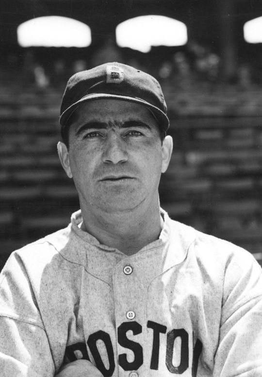 "Moe Berg signed with the Brooklyn Robins as an infielder after graduating from Princeton University magna cum laude with a bachelor's degree in modern languages in 1923, turning down more prestigious offers in academia and business. ""I would rather be a ballplayer than a bank president or a judge,"" Berg would explain. (National Baseball Hall of Fame)"
