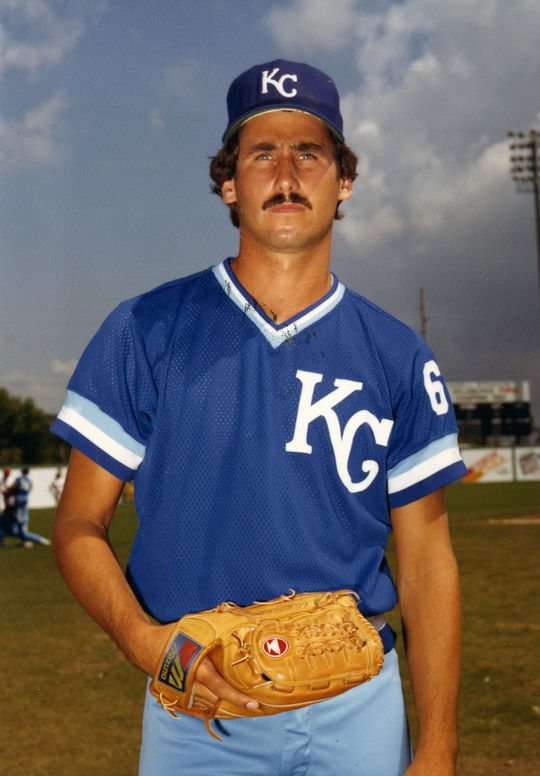 In the midst of a six-year run with the Indians that included a 1987 All-Star Game selection, Pat Tabler was traded to the Royals in exchange for Bud Black (pictured above). (National Baseball Hall of Fame and Museum)