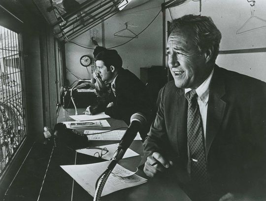 2018 Ford C. Frick Award candidate, Buddy Blattner. (National Baseball Hall of Fame and Museum)