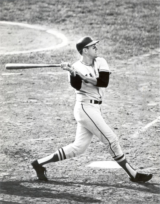 Curt Blefary (pictured above) and Don Wilson were the first regularly paired interracial roommates in the history of the National League. (National Baseball Hall of Fame and Museum)