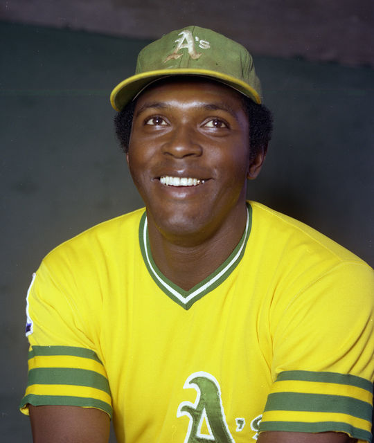 Vida Blue was traded from the Athletics to the Giants on March 15, 1978, in an eight-player deal that included Dave Heaverlo. (Doug McWilliams/National Baseball Hall of Fame and Museum)