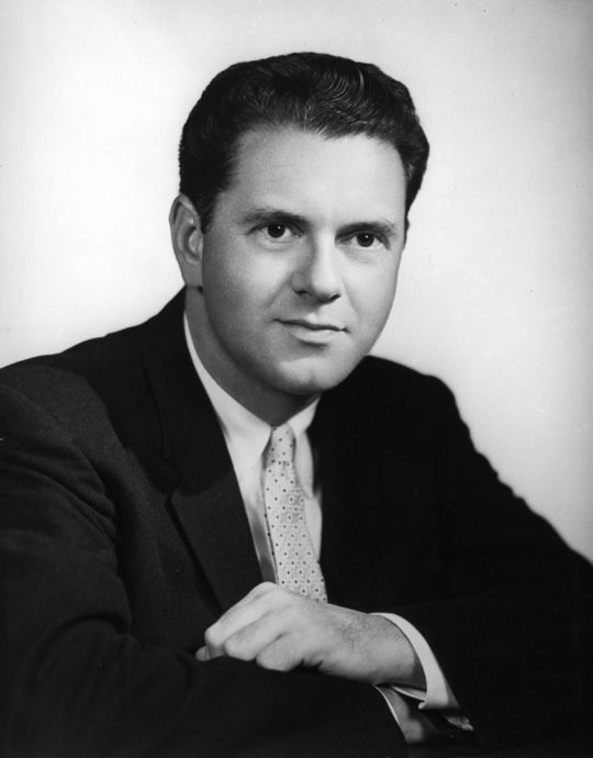 Bob Wolff began telecasting baseball in 1947 as the voice of the Washington Senators and would continue in that role for 19 years, following the franchise to Minnesota. (National Baseball Hall of Fame and Museum)