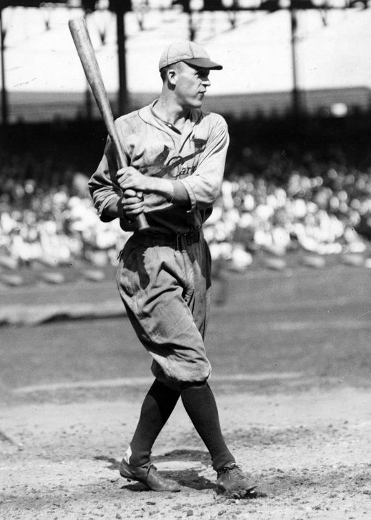 Hall of Famer Jim Bottomley had eight full seasons with a .300 batting average or better. BL-1694-68 (National Baseball Hall of Fame Library)