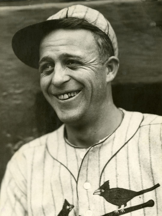 """""""Sunny Jim"""" Bottomley helped lead the St. Louis Cardinals to four World Series from 1926-31. BL-3942-73 (Charles Conlon / National Baseball Hall of Fame Library)"""