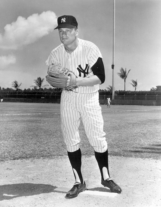 """Jim Bouton (pictured above) wrote about his Seattle Pilots teammate Greg Goossen in the 1970 book """"Ball Four"""". (National Baseball Hall of Fame and Museum)"""