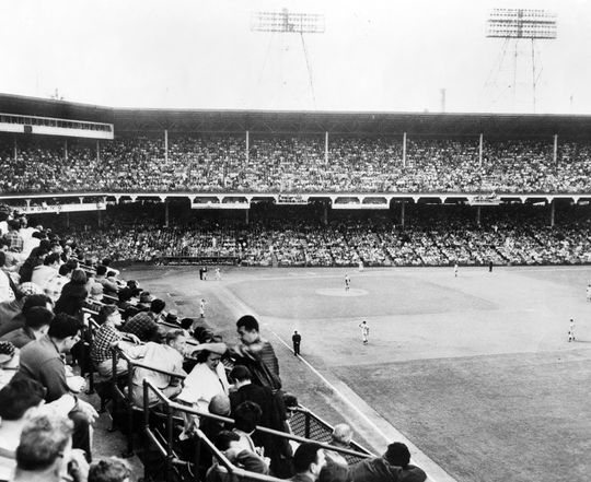 The Brooklyn Robins, and the Brooklyn Dodgers, played in Ebbets Field until 1958, when the franchise moved to Los Angeles. (National Baseball Hall of Fame and Museum)
