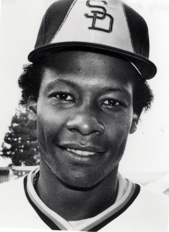 Subbing for the injured Kevin McReynolds, Bobby Brown started all five games of the 1984 World Series for the Padres in center field. (National Baseball Hall of Fame and Museum)