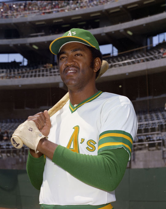 Ollie Brown played for three teams during the 1972 season, including the Oakland Athletics. (Doug McWilliams / National Baseball Hall of Fame and Museum)