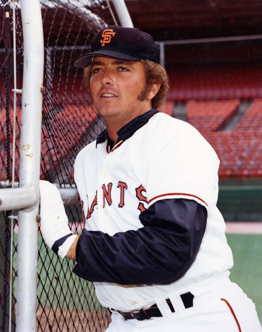 Ron Bryant of the Giants led the National League with 24 victories in 1973 and finished third in the NL Cy Young Award voting that year behind Tom Seaver and Mike Marshall. (National Baseball Hall of Fame and Museum)