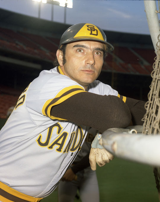 Padres catcher Chris Cannizzaro said his teammate Ollie Brown was a respected member of the Padres' clubhouse. (Doug McWilliams / National Baseball Hall of Fame and Museum)