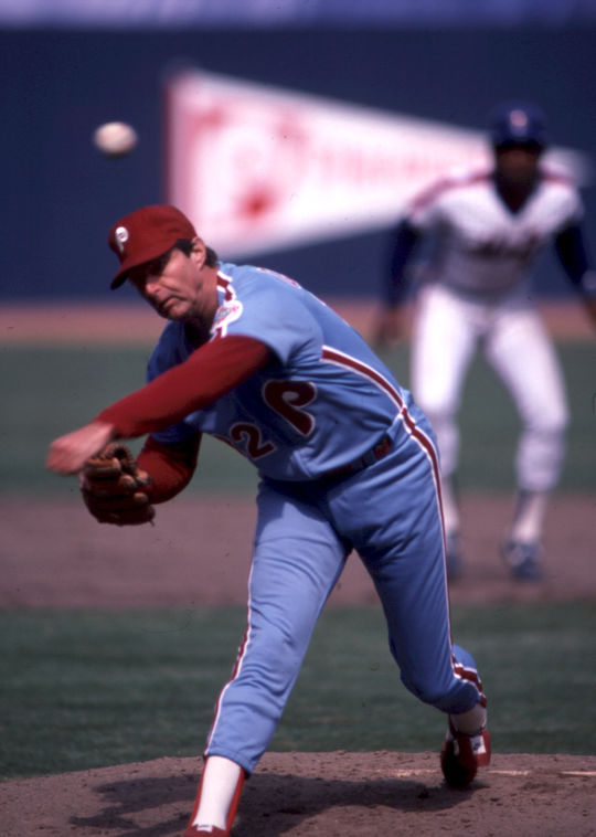 Steve Blass may have won the 1972 NL Cy Young Award were it not for Hall of Famer Steve Carlton, pictured above, who had an otherworldly season with the Phillies. (Rich Pilling/National Baseball Hall of Fame and Museum)