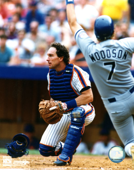 Gary Carter played five seasons with the Mets and was inducted into the Hall of Fame in 2003. BL-364-2007-4 (Photo File / National Baseball Hall of Fame Library)